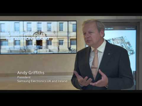 Samsung Business | Display technology integrated into new Weston Library at Oxford University