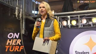 Pittsburgh Steelers reporter Missi Matthews defying doubters I On Her Turf I NBC Sports