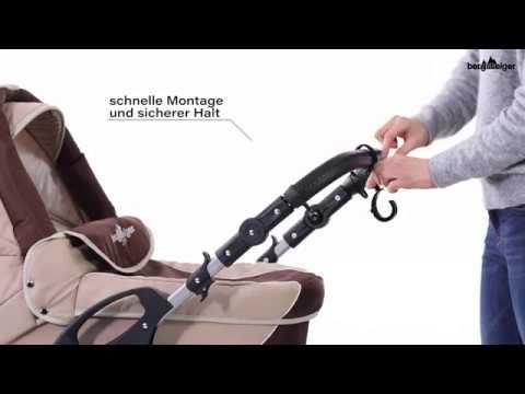 Bergsteiger Kinderwagen Universalhaken Youtube