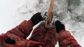 Перемёт на налима(Ставим по первому льду)(Рыбалка на Севере,по многочисленным просьбам ставим перемёт под лёд. Первый лёд и всё проще некуда на всё..., 2016-10-24T19:50:40.000Z)