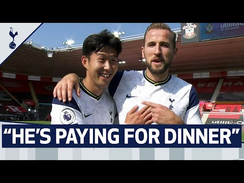 """HE'S PAYING FOR DINNER NEXT TIME"" 