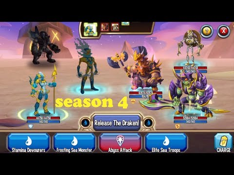 Monster Legends - Best Legendary Team combat PVP & Progress Multiplayer Mode season4 review
