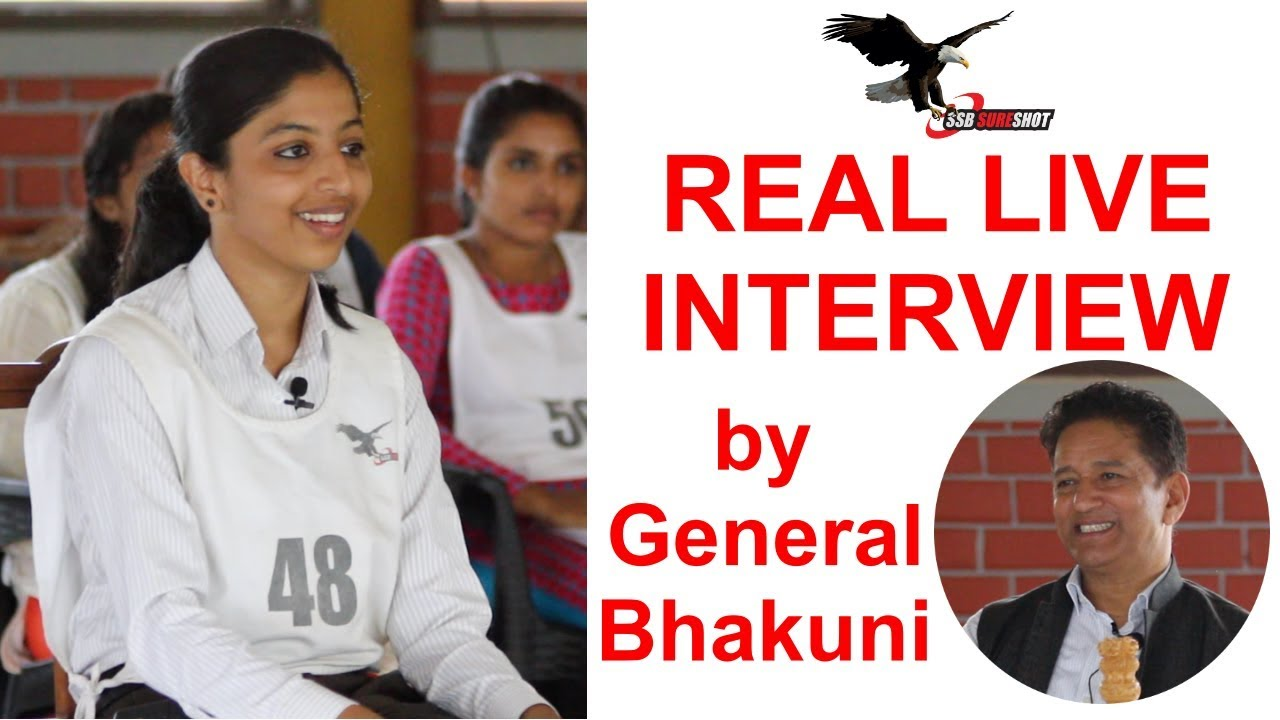 Download Real Live SSB Interview by Maj Gen VPS Bhakuni, Former SSB Bangalore Commandant   SSB Sure Shot