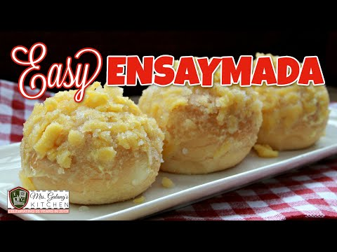 EASY ENSAYMADA (Mrs.Galang's Kitchen S7 Ep12)