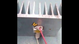 Изготовление светодиодного прожектора 10 Вт 220 В.(Матрица 10 ватт на 12 вольт,усиленный драйвер с 450 до 680 мА 12 вольт. Ссылка набор-http://ali.pub/9vehx клей 2* 5 гр-http://ali.pub/5g..., 2015-06-20T04:50:56.000Z)