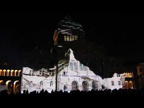 Projection au Palais fédéral à Berne. Bundesplatz 2015 (Part II )