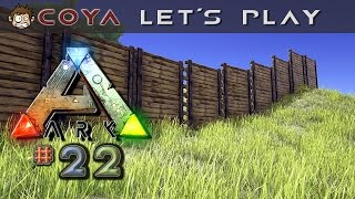 ARK Survival Evolved #22 • Ein Schutzwall für