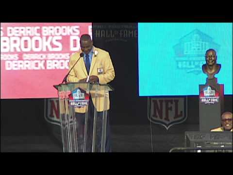 Derrick Brooks Pro Football Hall of Fame