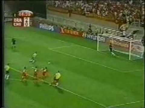 Brasil x China 1 Fase Copa do Mundo 2002