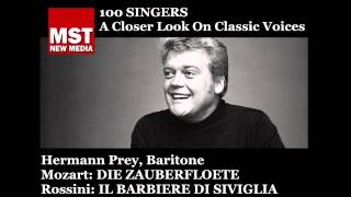 100 Singers - HERMANN PREY