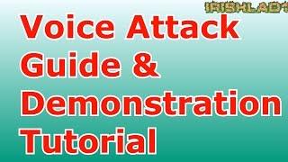 Voice Attack Beginners Guide & Elite Dangerous Setup Demonstration