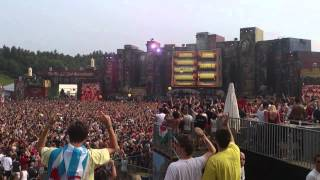 Tomorrowland 2012 - Hardwell - Kick out the epic motherfucker Epic