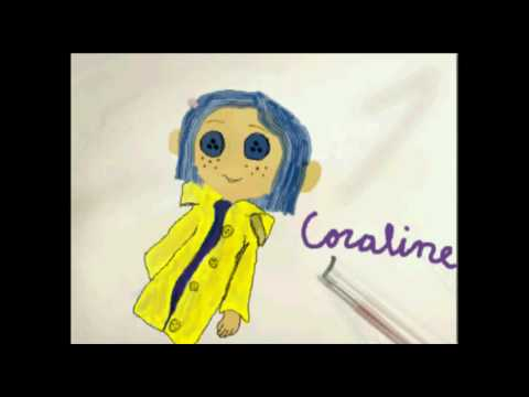 How To Draw Coraline's Doll