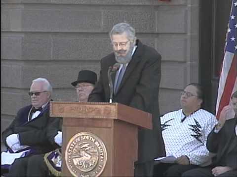 South Dakota State Capitol Cornerstone Re-Dedication Ceremony