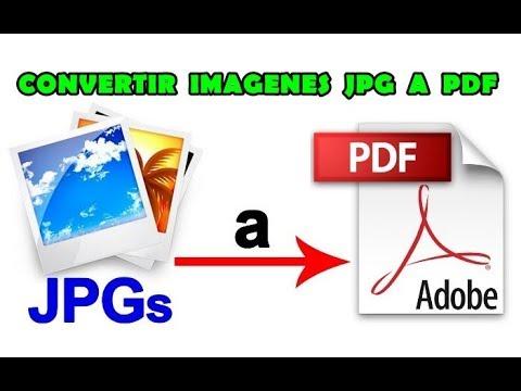 Cómo CONVERTIR IMÁGENES JPG A PDF? | Sin Programas - Lo Mejor