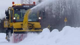 Unimog Road-Railer for VR-Track (Finnish Railways)