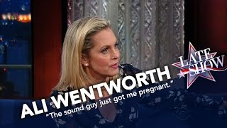 Ali Wentworth Digs For Comedy Gold Backstage