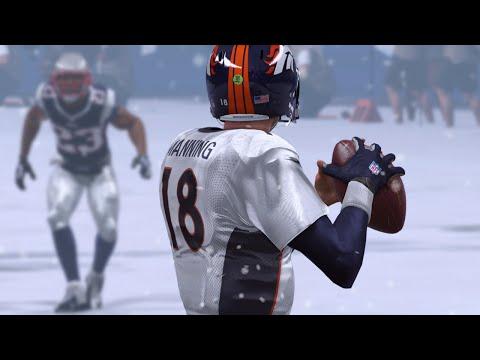 SNOW CLASSIC FRENZY Peyton Manning vs Tom Brady WILD FINISH Broncos vs Patriots 2014