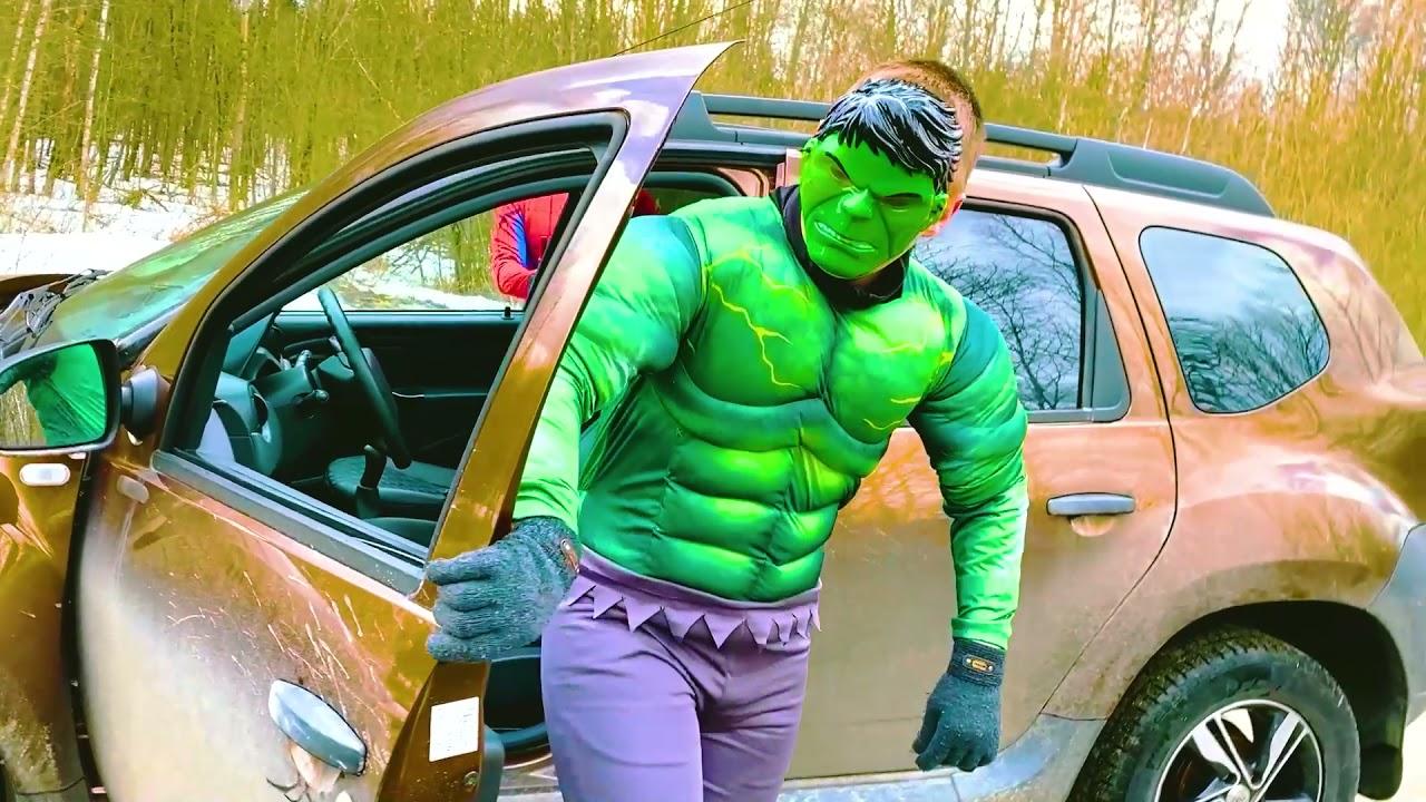 NEW! Max Lvl 40 Hulk and Spiderman Pranks