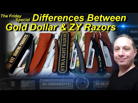 Point Out the Differences Between Gold Dollar and ZY Razors