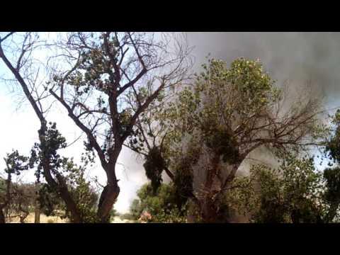 Fire in San Jacinto California June 3, 2017