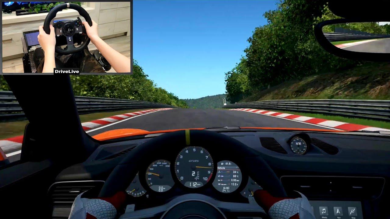 Project Cars 2 Porsche 911 GT3 RS (Logitech G920 Steering