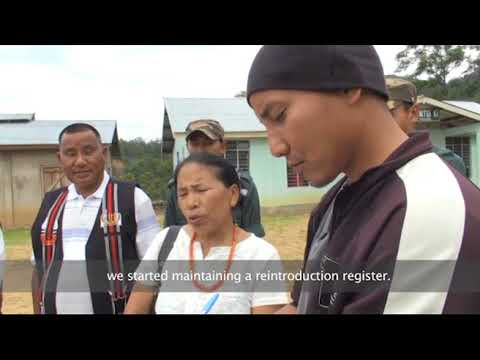 Overcoming Traditional Instincts   Old Jalukie Joint Forest Management Committee, Nagaland