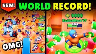 *NEW RECORD* MAX Power Cubes in Brawl Stars Take Down