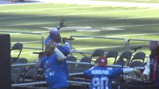 naughty by nature treach w josh hyman metlife stadium giants celebration down with j p po p p 2712