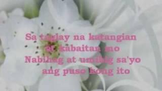 Dahil minahal mo ako by: Sarah geronimo w/ lyrics