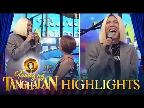 Tawag ng Tanghalan: Vice Ganda laughs to tears