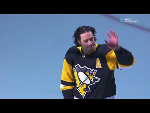 Penguins vs. Panthers (3/05/2019) (Matt Cullen Honored for his 1,500th game)