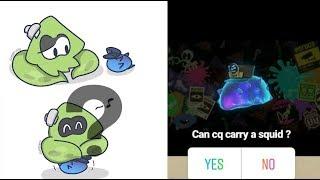 Kann CQ tragen ein Tintenfisch?