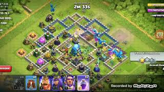 Electro dragon attack cannot do 100% on th12 base