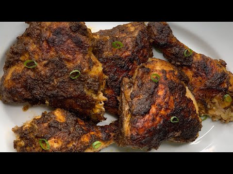 How To Make Oven Baked Jerk Chicken