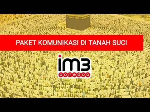 Paket Internet Haji/Umroh Indosat Ooredoo Di ARAB SAUDI! #UNLIMITED.