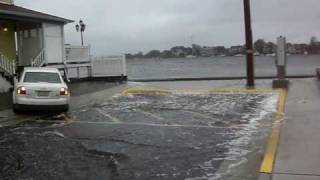 9 11 storm shrewsbury river overflow in sea bright new jersey