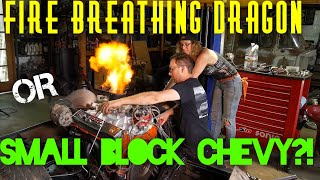 Small block Chevy bolt ons! C20 progress on In the shop with Emily EP 53