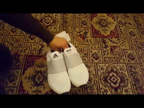 cheap for discount 8257e 255ab Adidas ultra boost wood wood white women unboxing - YouTube