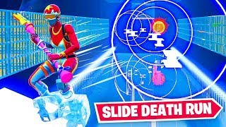 The *HARDEST* SLIDE DEATHRUN in Fortnite!