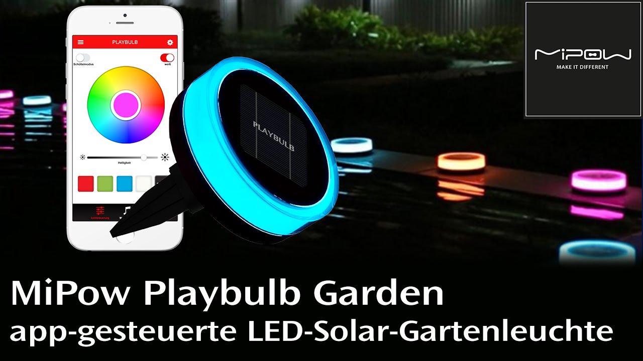 Mipow playbulb garden die solar gartenleuchte mit - Melinera solar gartenleuchte ...