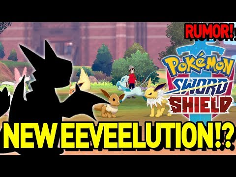 3 NEW EEVEELUTIONS?! 😍 NEW Pokemon Sword and Shield Rumor and Discussion!