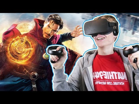 BECOME DOCTOR STRANGE IN VIRTUAL REALITY  | Mage's Tale VR (Oculus Touch Gameplay)