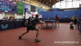 Abusev - Berezin.Russian National table tennis championship 2018.FHD