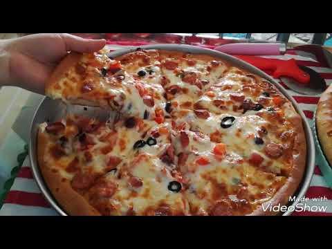 صورة  طريقة عمل البيتزا البيتزا من صاحب مطعم ايطالى بالإضافات المميزة طريقة عمل البيتزا من يوتيوب