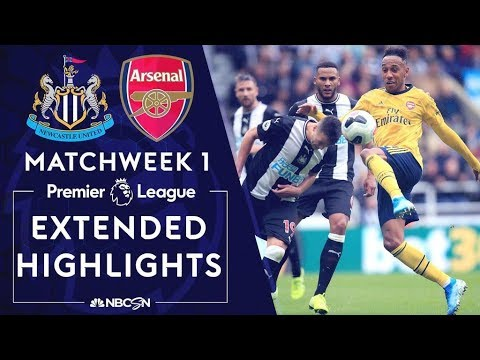 Newcastle V. Arsenal | PREMIER LEAGUE HIGHLIGHTS | 8/11/19 | NBC Sports