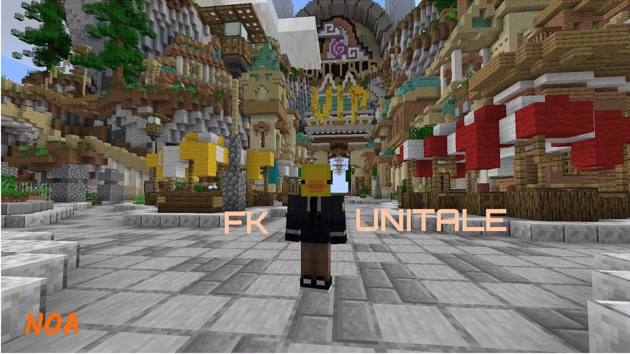 FALLEN KINGDOMS SUR UNITALE - Minecraft - Noa - YouTube