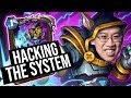 I AM HACKING THE SYSTEM! | Saviors of Uldum | Hearthstone
