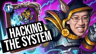 I AM HACKING THE SYSTEM!   Saviors of Uldum   Hearthstone