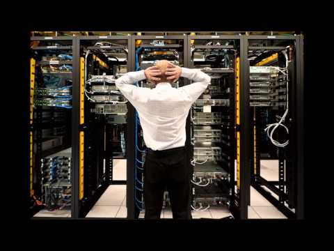 Data center sounds, servers room, air cooling, audio, video, one hour of loud noise